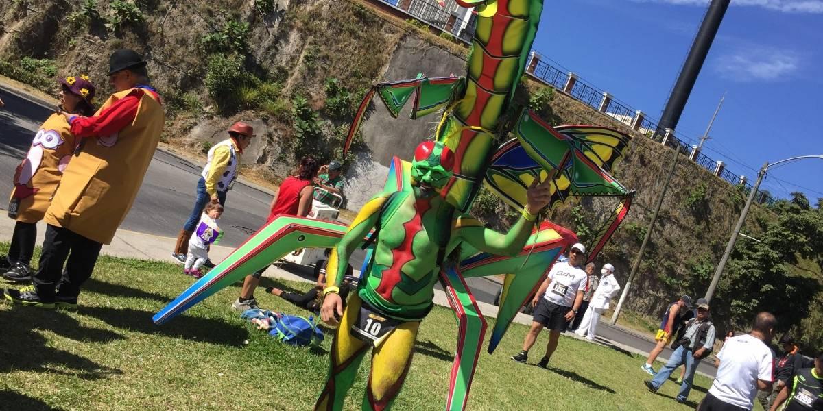 Los disfraces más creativos para la edición 60 de la San Silvestre