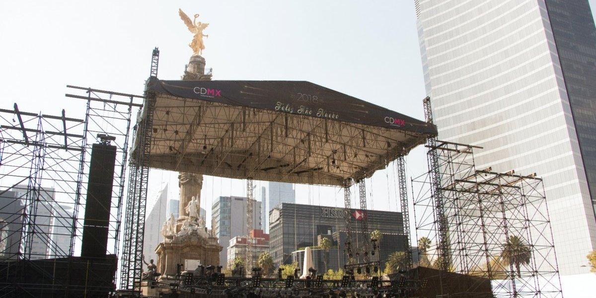 Conoce las rutas de transporte para el concierto de Año Nuevo CDMX