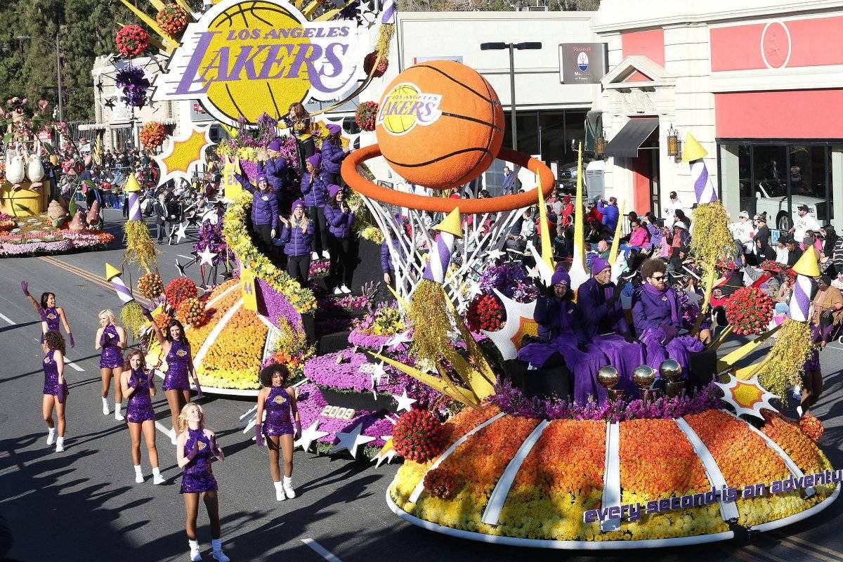 Destacada participación de banda chitreana en Desfile de las Rosas en Pasadena