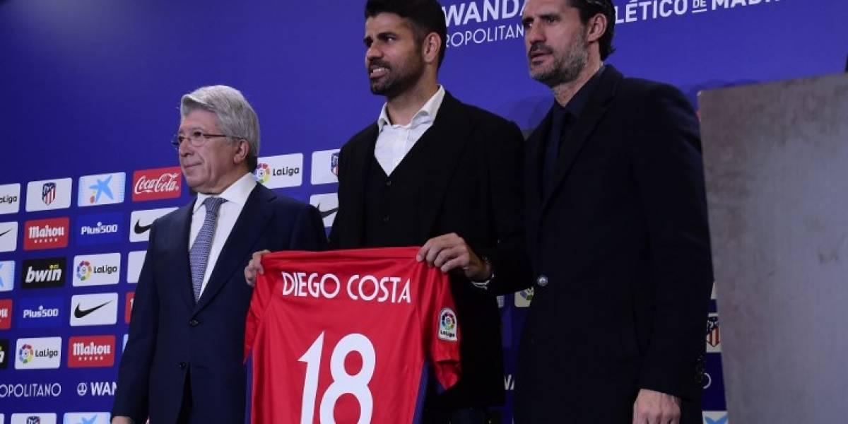 Atlético de Madrid presenta a sus nuevos fichajes para 2018