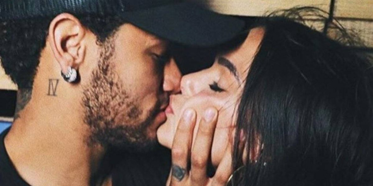 Neymar tiene apasionado reencuentro con Bruna Marquezine