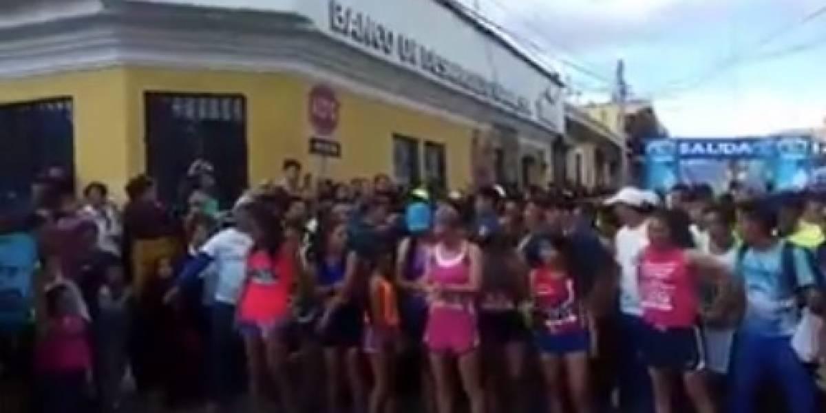 Fallece corredor que participó en la carrera San Silvestre