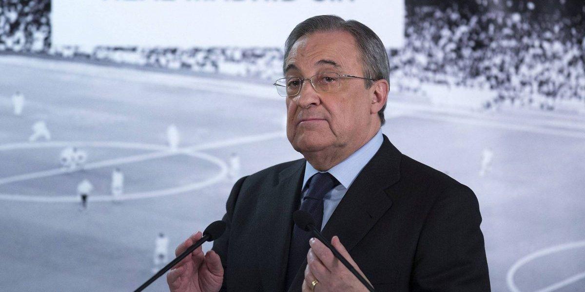 VIDEO: Presidente del Real Madrid felicita a equipo de Honduras