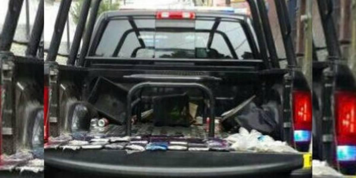 Detienen a policías con marihuana en Coyoacán