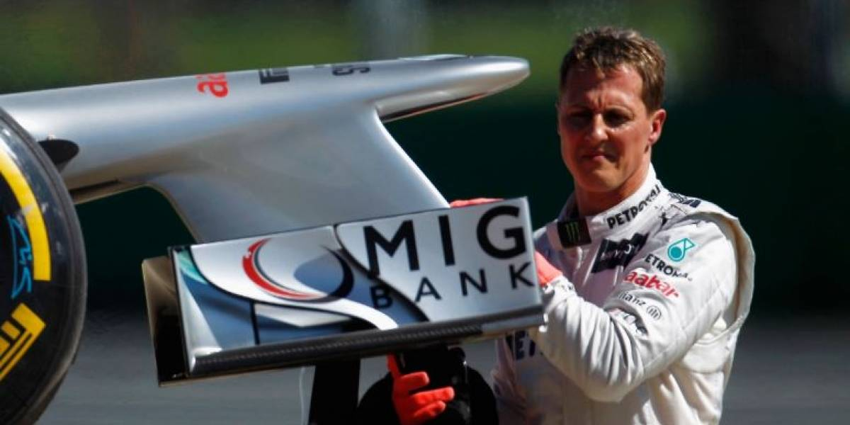 Família de Michael Schumacher gastou mais de R$ 110 milhões com tratamento após acidente