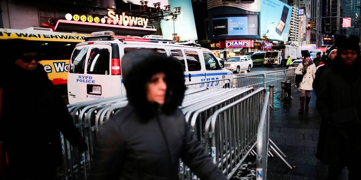 Frio extremo é esperado na virada do ano em Nova York