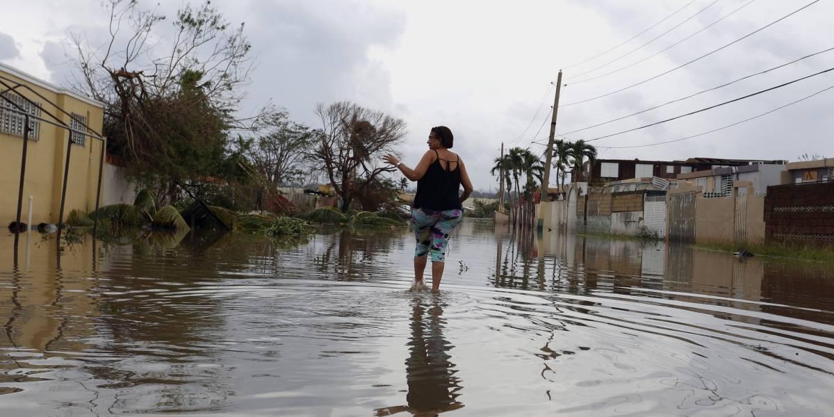 Reconstruyen casas para afectados por el huracán María, en Puerto Rico