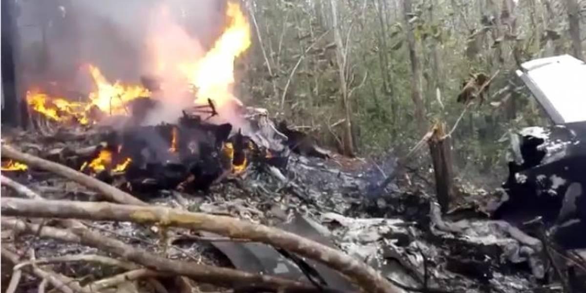 Costa Rica relata queda de avião que transportava 12 pessoas