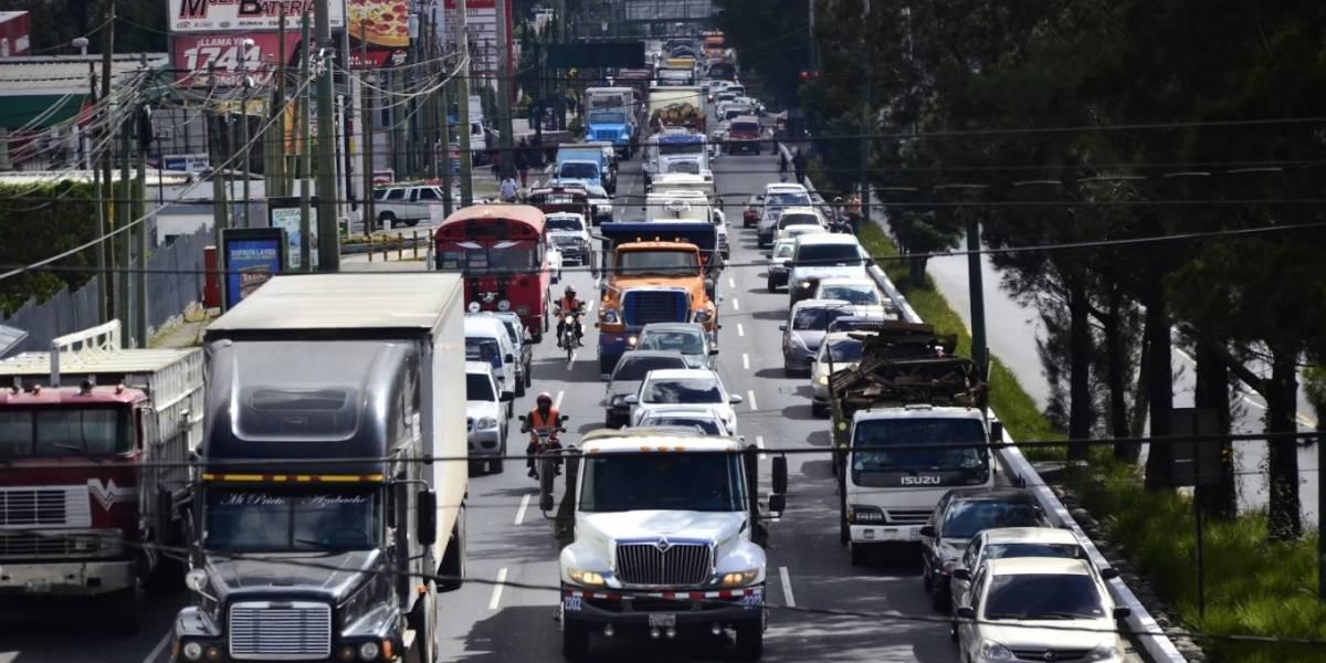 Restringen circulación del transporte pesado durante Semana Santa