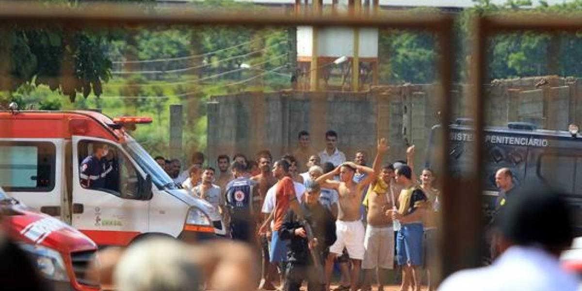 Motín en cárcel de Brasil dejó nueve personas muertas y 14 heridas