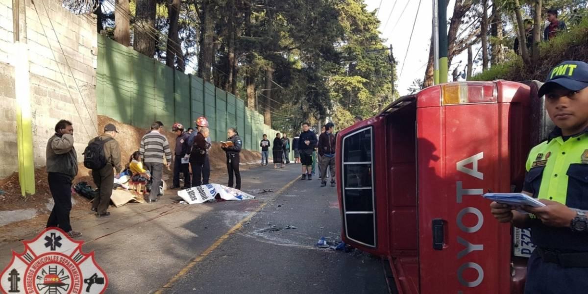 Accidente de tránsito en San Lucas deja a una persona fallecida; familia iba de paseo al puerto