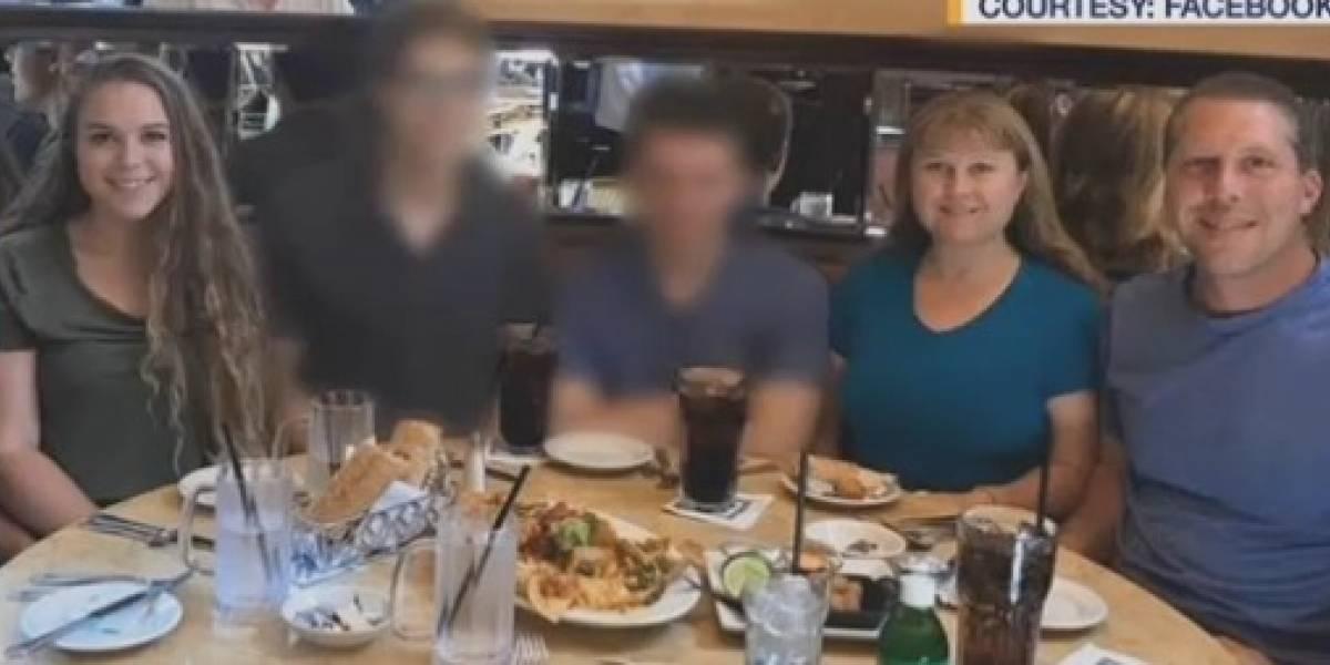 Adolescente de Nueva Jersey mata a tiros a sus padres y hermana