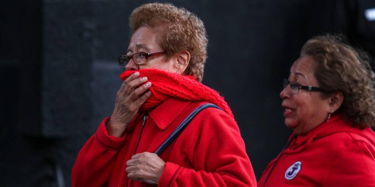 Alertan por bajas temperaturas en el Valle de México