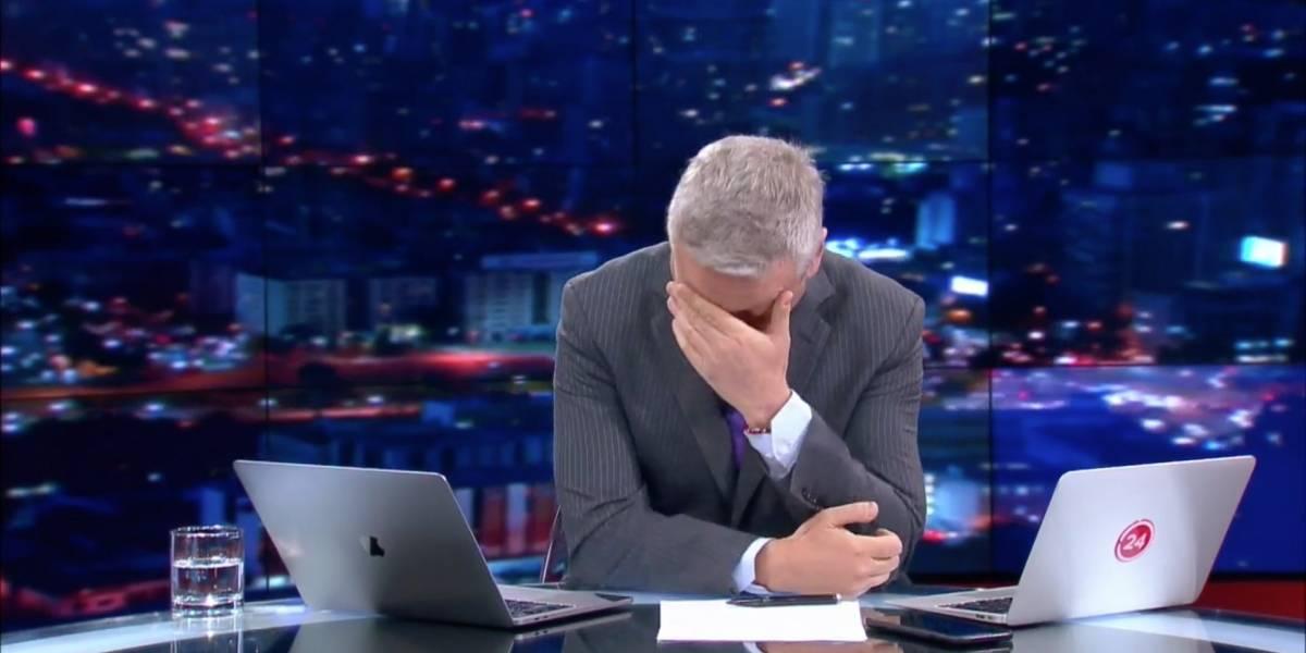 """Me mataron"": La emocionante despedida de Juan Manuel Astorga de TVN"