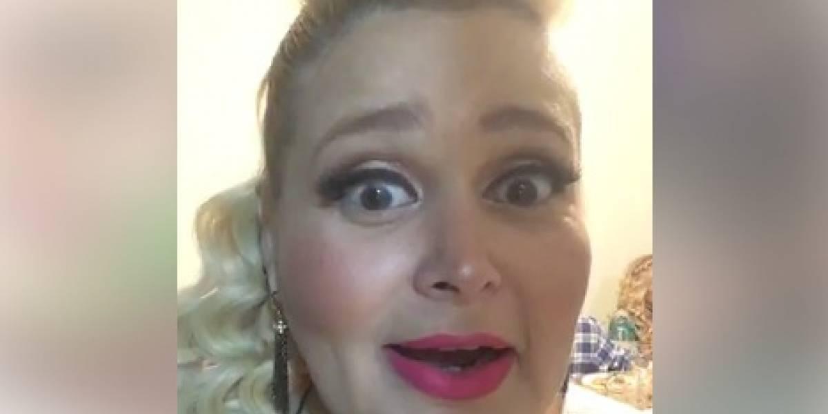 Balacera en Culiacán interrumpe live de Sheyla
