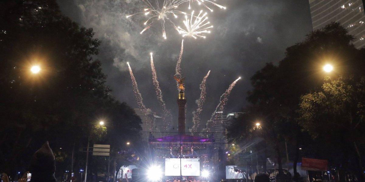 Lo mejor del concierto de Año Nuevo en el Ángel de la Independencia