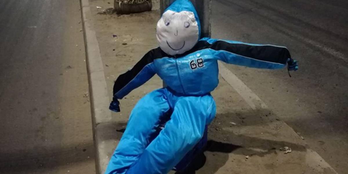 Fin al misterio policial del año en Chile: mujer sufre robo de su muñeco de Año Nuevo y los ladrones se disculpan por Instagram
