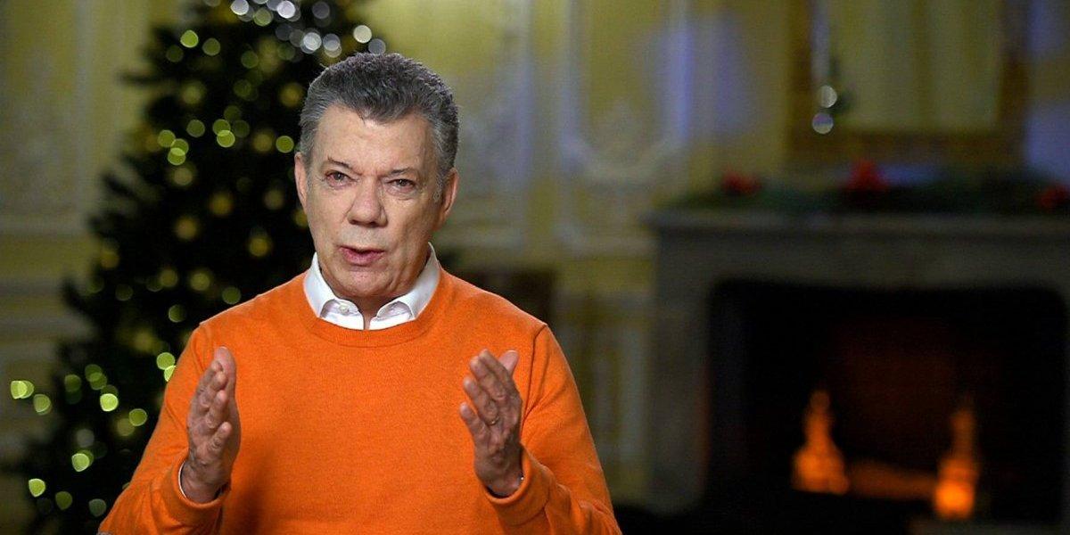 Juan Manuel Santos da un discurso optimista para iniciar el 2018