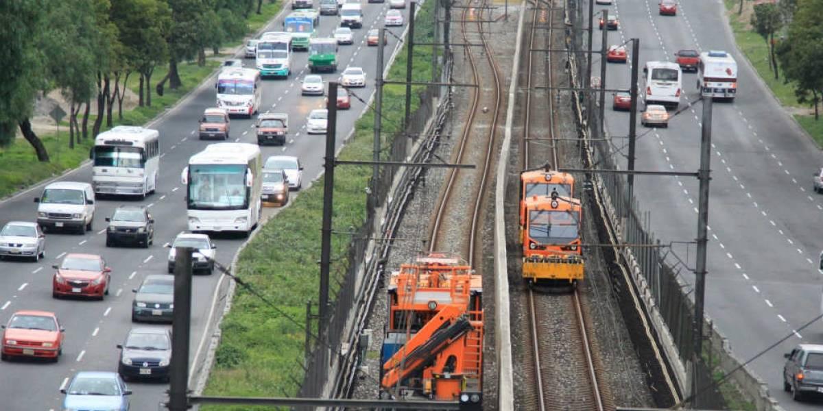 Hundimientos ponen en riesgo al Metro de la CDMX