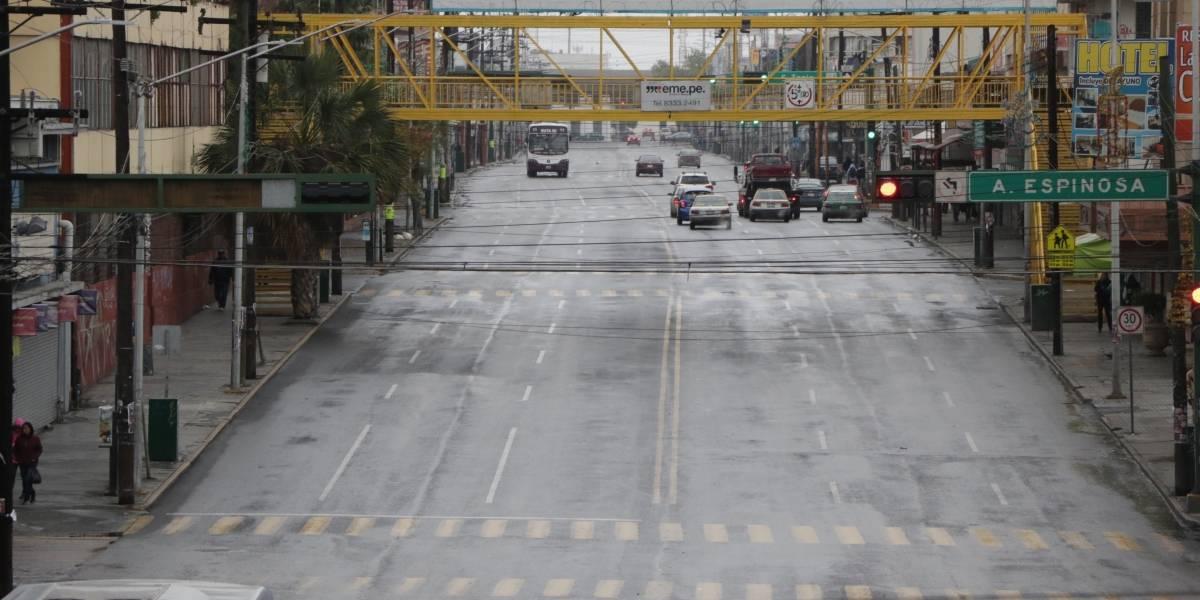 FOTO: Así se ve el centro de Monterrey sin gente
