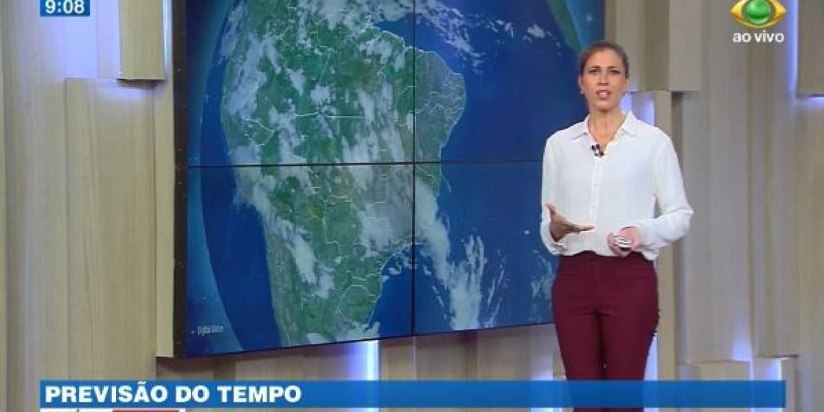 Ano começa com céu carregado por quase todo o Brasil