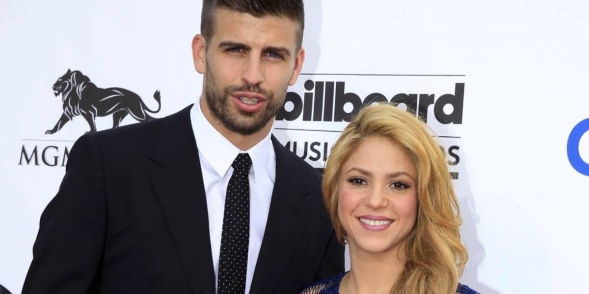 Shakira y Piqué comparten postal de fin de año que confirma su amor