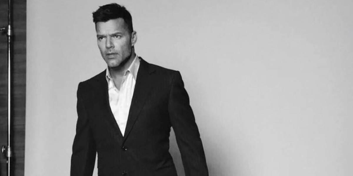 Ricky Martin presume a los hombres de su vida