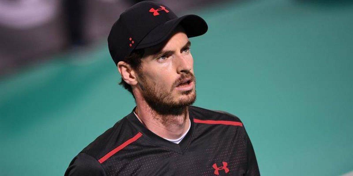 Andy Murray puso la alerta roja para el Abierto de Australia: se bajó de Brisbane por lesión