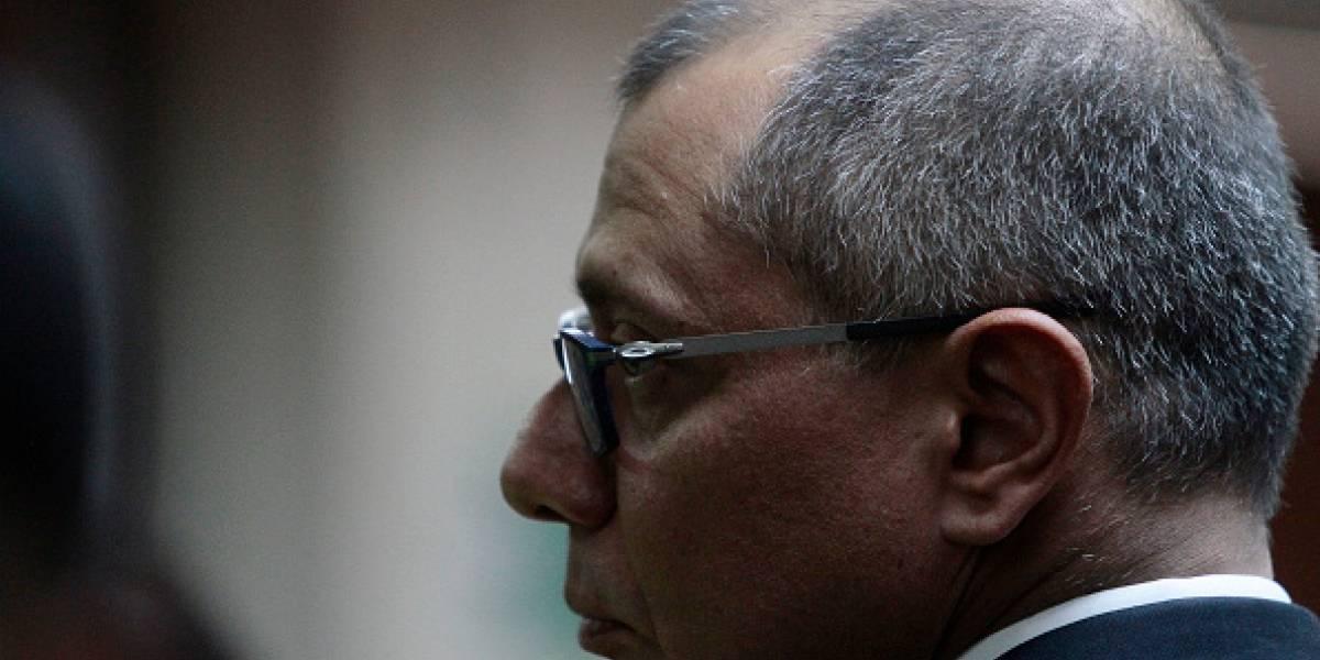Ministerio de Justicia retira seguridad y protección personal a Jorge Glas