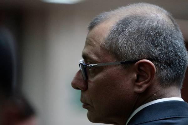 Jorge Glas deberá presentar pruebas de descargo este 7 de enero