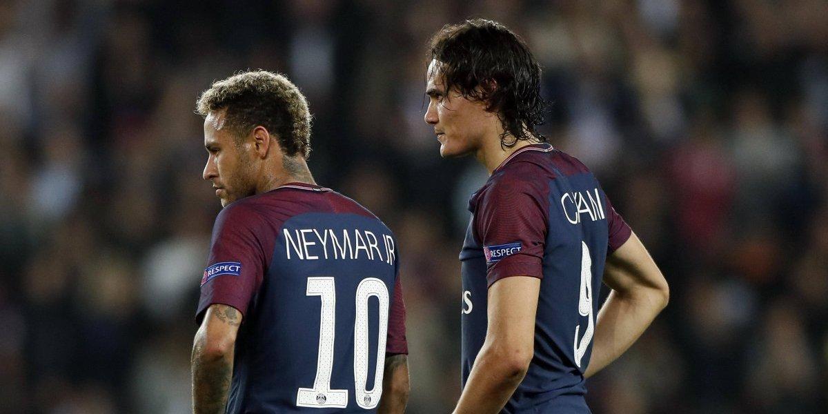 Edinson Cavani contó su verdad de lo que pasó con Neymar