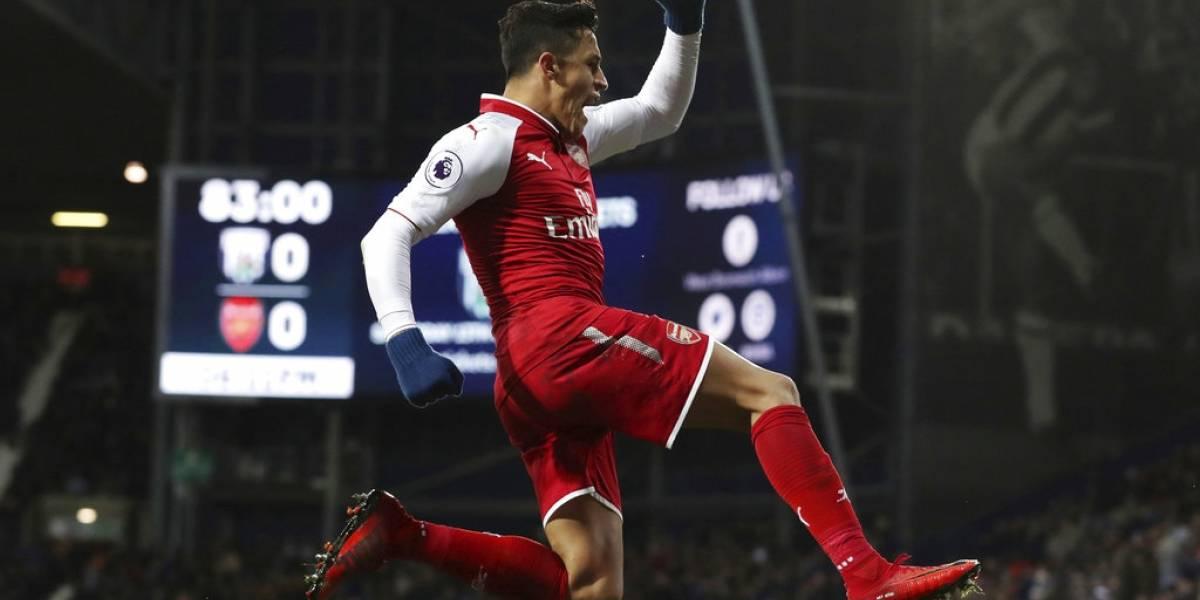 Alexis podría jugar su último partido con la camiseta del Arsenal en el derby ante Chelsea