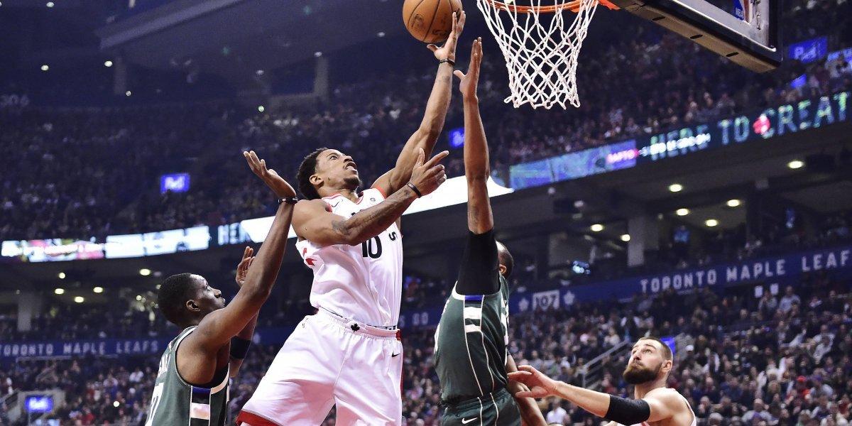 DeRozan impone récord con los Raptors