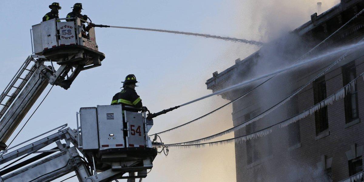 Reportan otro incendio en edificio de Nueva York