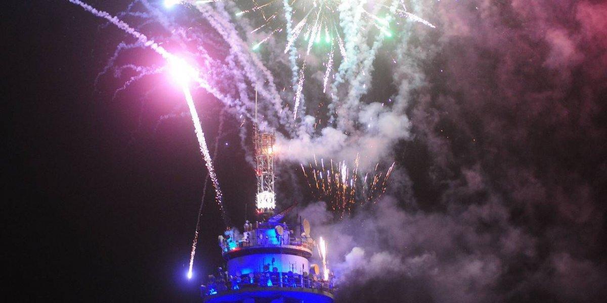 """Los eventuales """"malos augurios"""" que puede traer el error de adelantar los fuegos artificiales en la Torre Entel"""