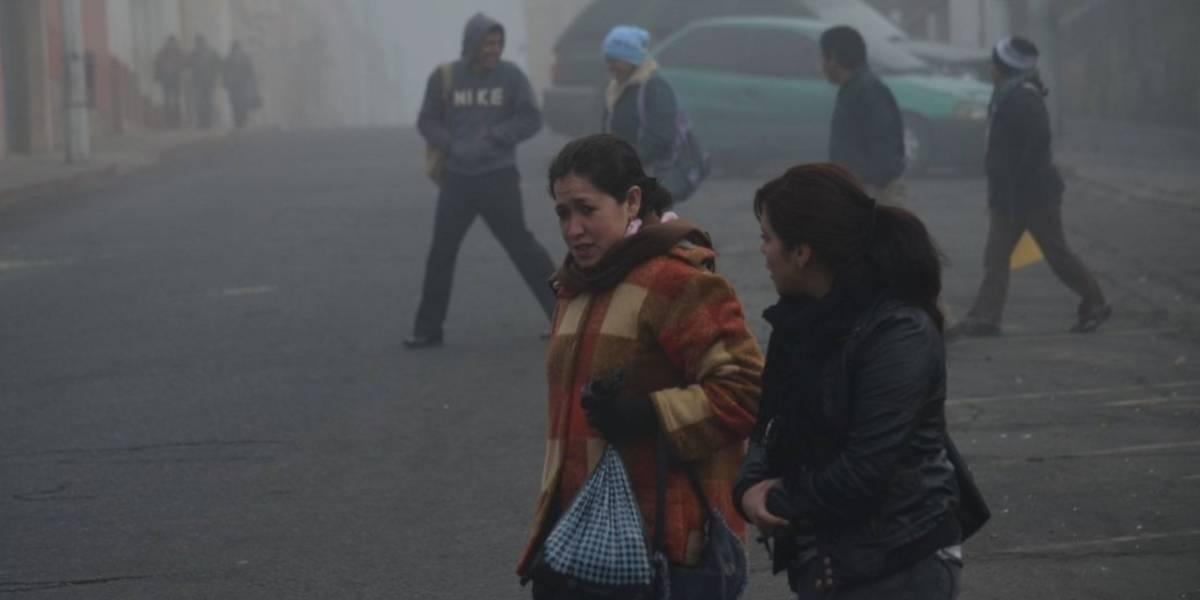 ¡Prepárate! El frío será intenso en los próximos cinco días para Guatemala