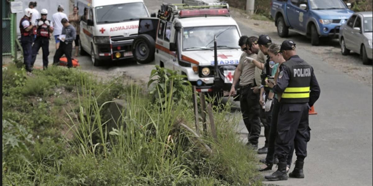 Costa Rica registra mayor nivel de homicidios de su historia