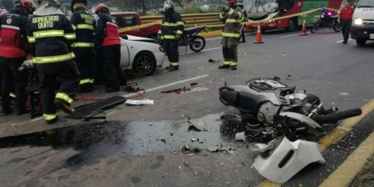 384 accidentes de tránsito fueron atendidos en Año Nuevo
