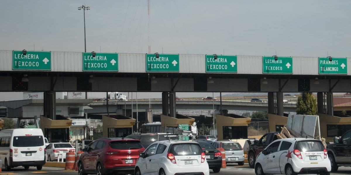 Se registra tránsito lento en varias autopistas del país