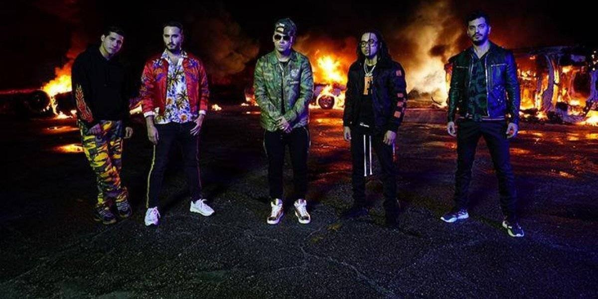 Reik graba video con Ozuna y Wisin