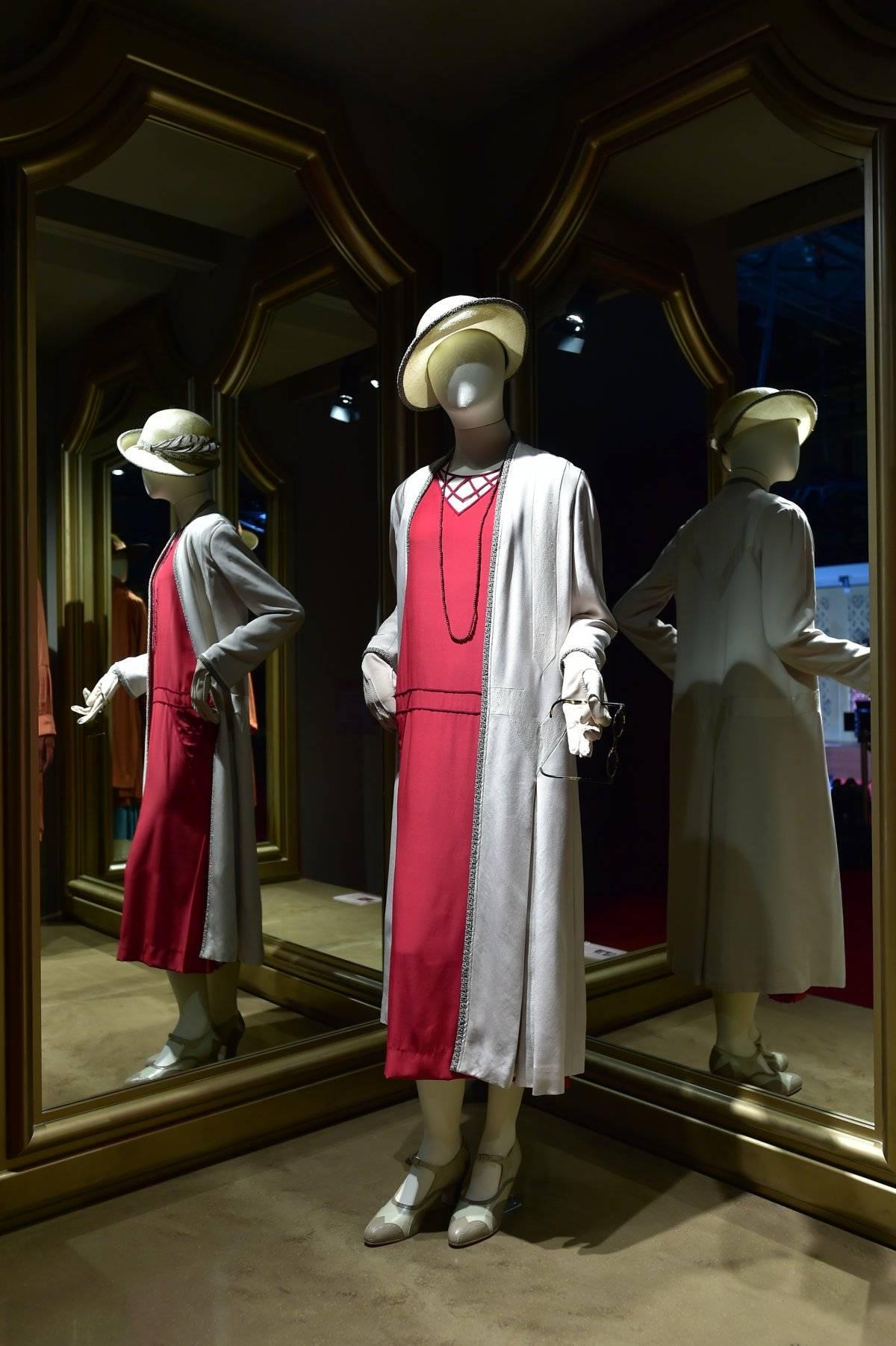 Vestido de Mary en los años 20.