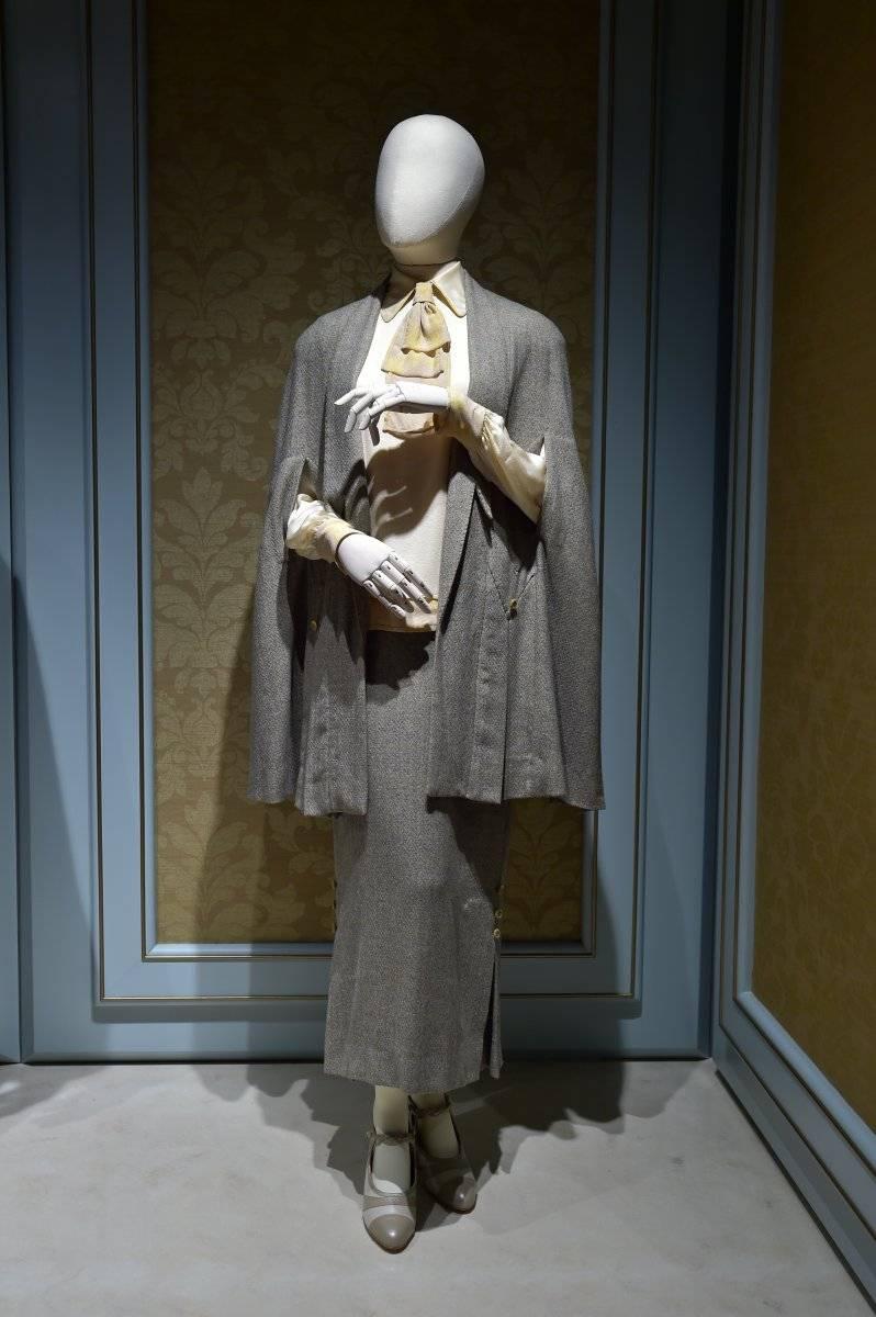 Este vestido de tweed fue uno de los que usó Lady Mary en la última temporada y uno de los más amados por los fans.