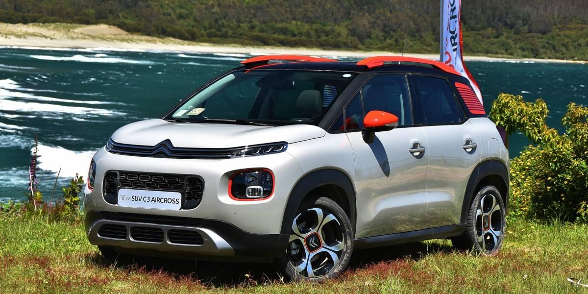 La EuroNCAP da máxima puntuación de seguridad del Citroën C3 Aircross