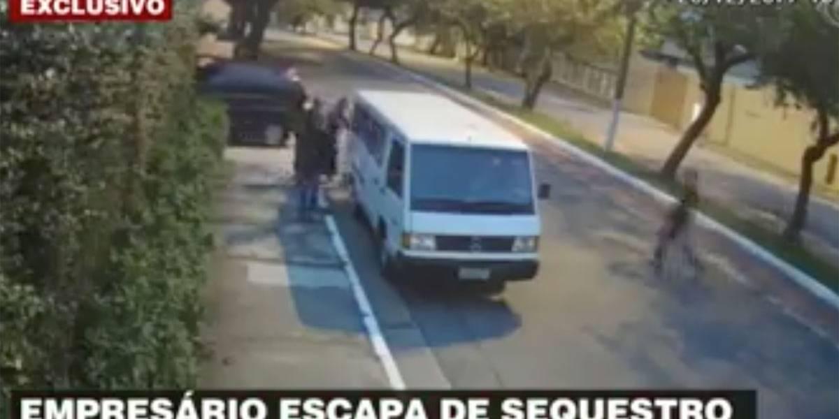 Empresário escapa de sequestro na zona Sul de São Paulo