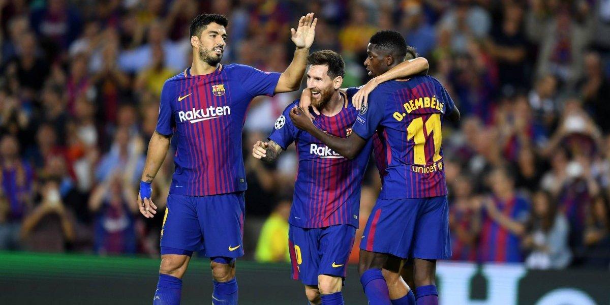 VIDEO: ¡Lo dan de alta! Dembelé podría jugar en Copa del Rey