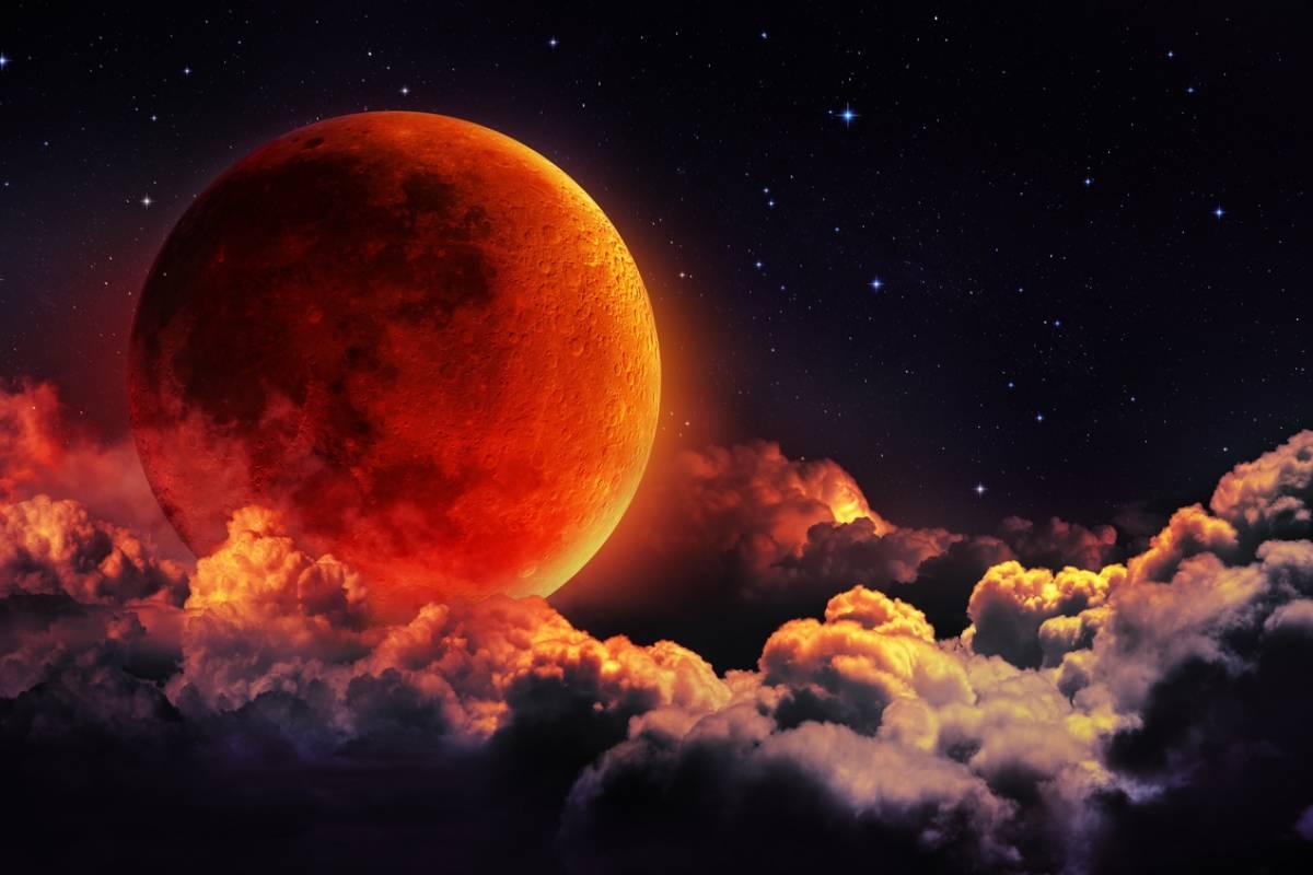 Enero cerrará con eclipse de superluna azul de sangre