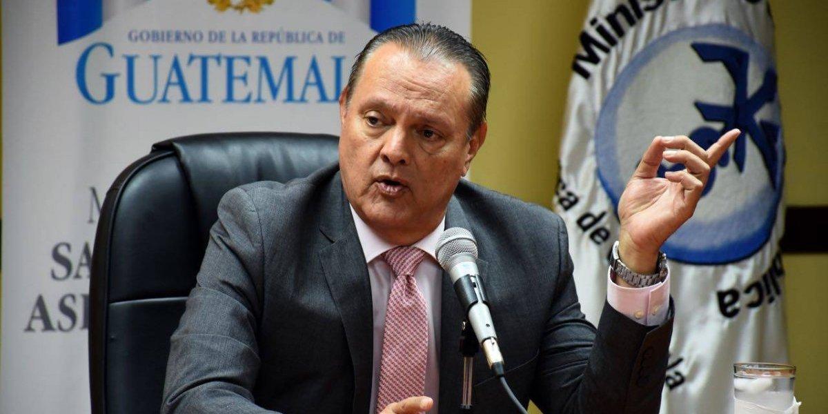 """Ministro Soto: """"La ley no me impide a mí remover o contratar personas"""""""