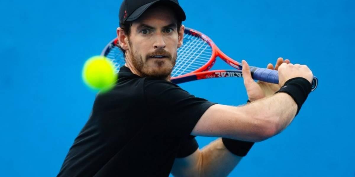 Andy Murray se retira del abierto de Brisbane por lesión