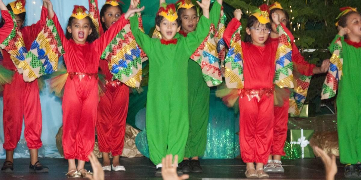 """""""La Navidad en la Jungla"""", en el colegio New Horizons"""