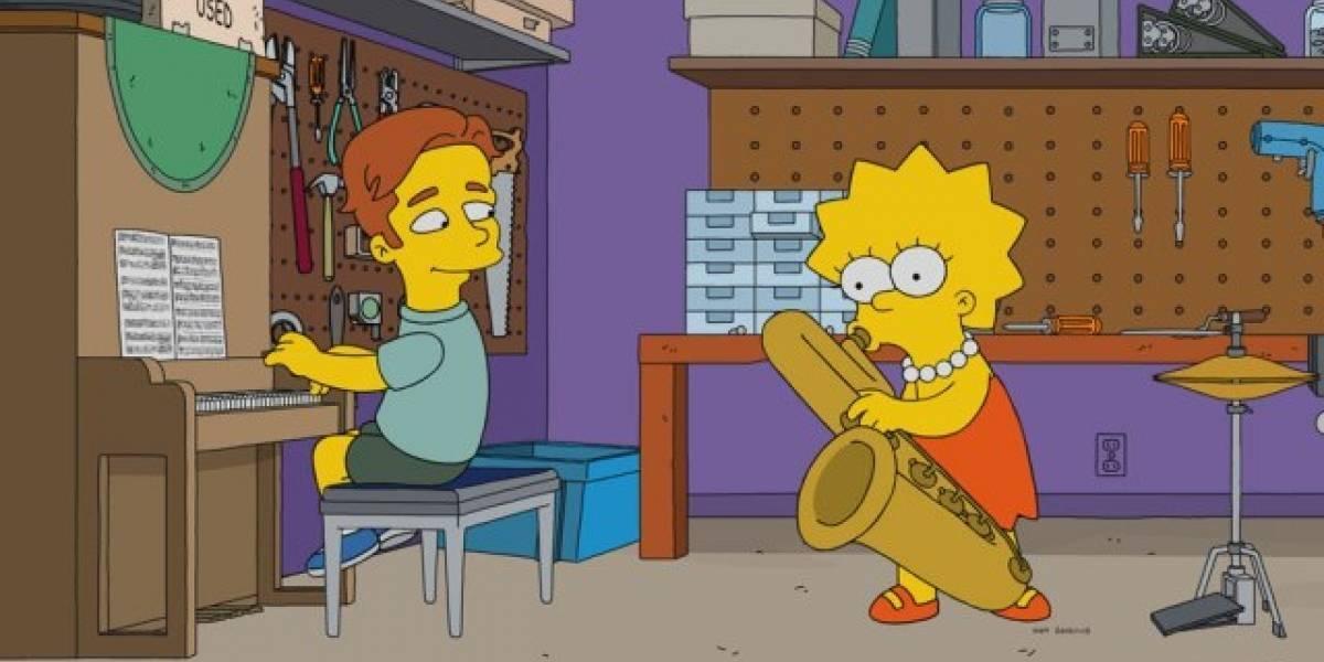 Así será la primera aparición de Ed Sheeran en Los Simpson